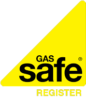 Gas Safe Register yellow text